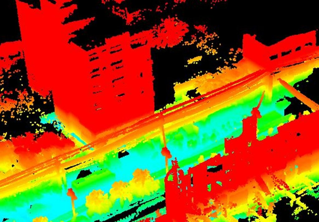 LIDAR - Road and UAV | GeoVista | Comprehensive Survey and GIS